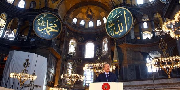 Ayasofya'da okunan Kur'an-ı Kerim tilaveti Yunanlıları çılgına çevirdi!