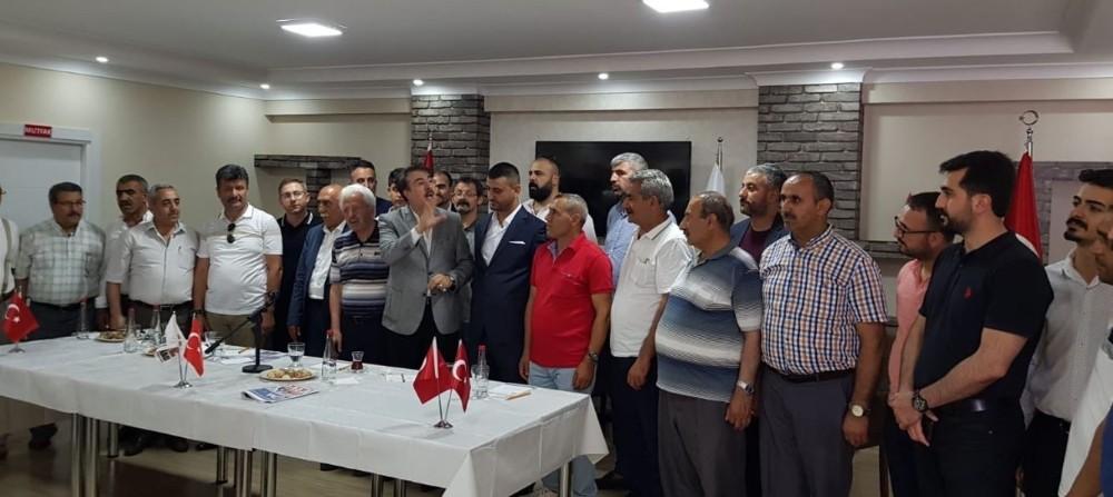 Aydemir: 'Dadaşlar Yıldırım'a destekte tek yürek'