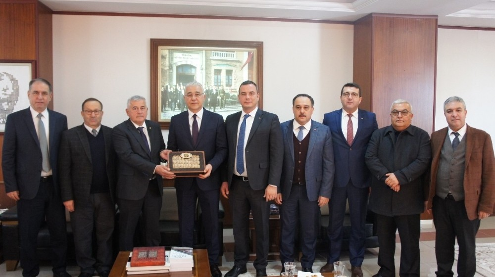 Aydın Ticaret Borsası'ndan Emniyet Müdürü Mehmet Ekici'ye ziyaret