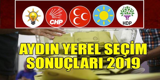 Aydın yerel seçim sonuclari 2019 | Aydın ilçeleri yerel seçim sonuçları Cumhur İttifakı Millet İttifakı oy oranları