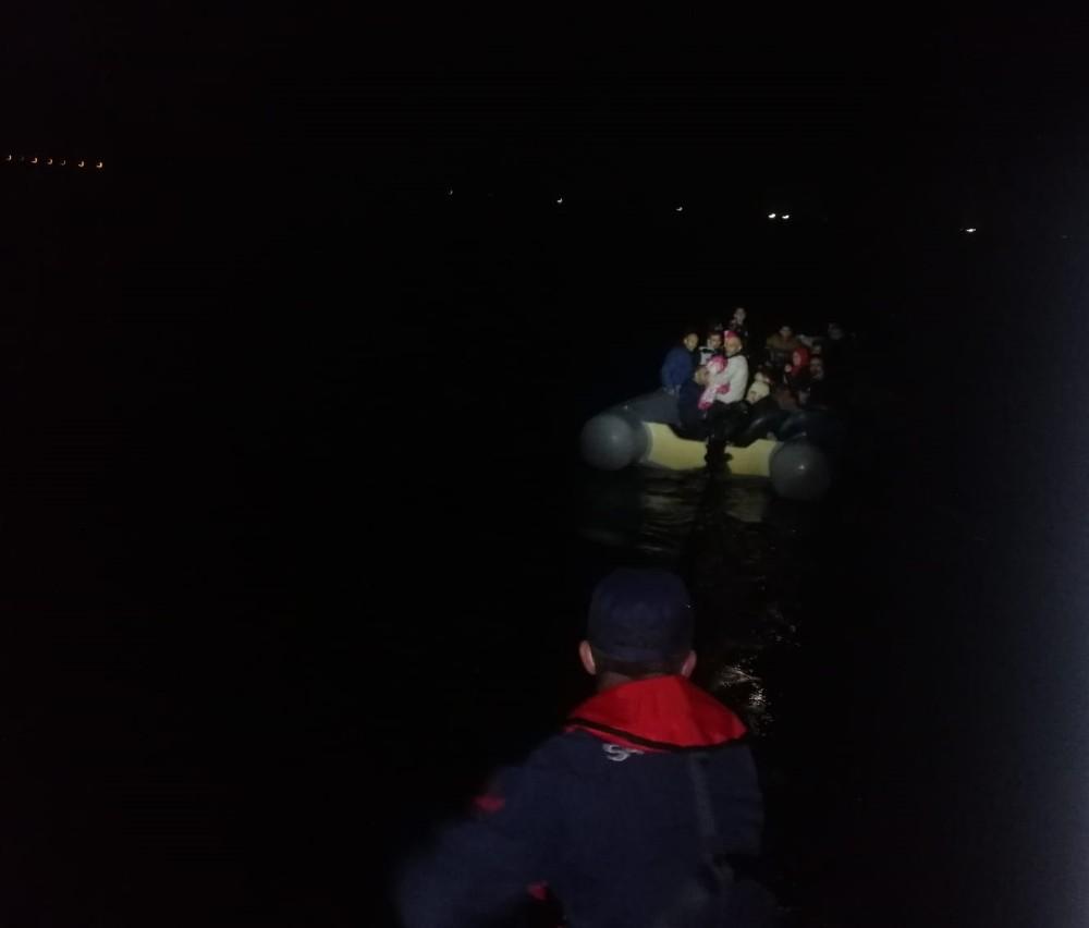 Aydın'da 42 düzensiz göçmen yakalandı