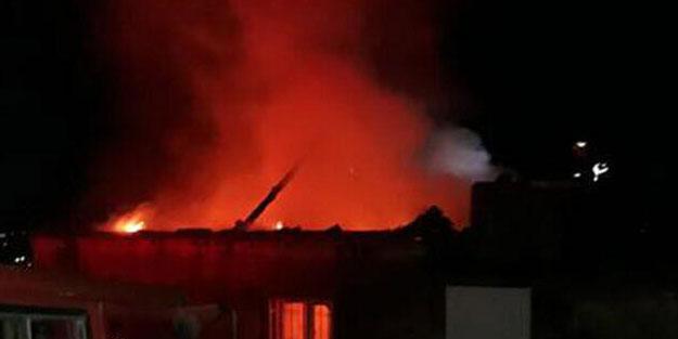 Aydın'da bir kişi evini ateşe verdi