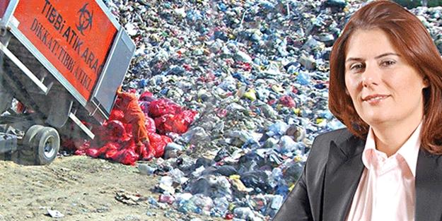 Aydın'da çöp rezaleti
