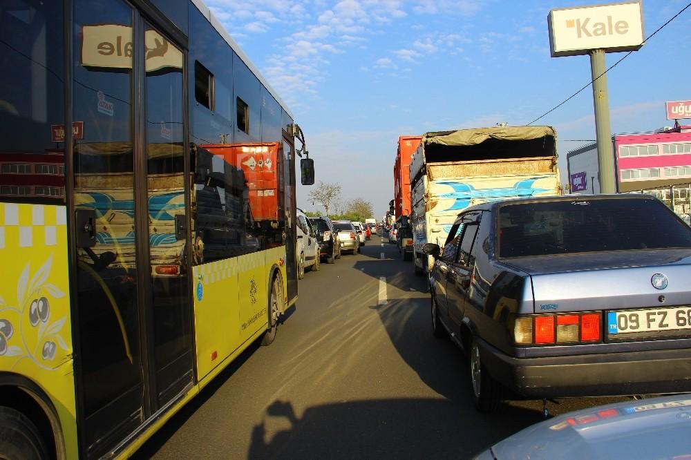 Aydın'da Korona virüsü denetimi trafiği