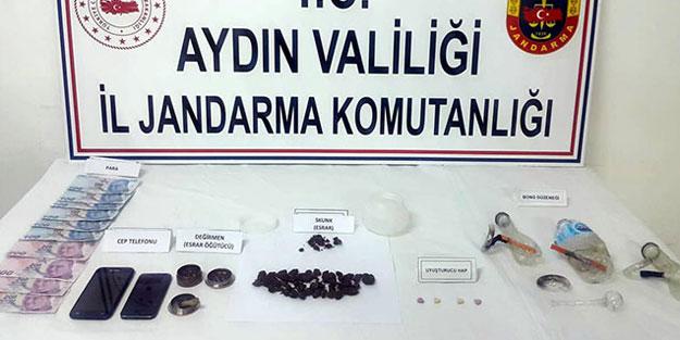 Aydın'da uyuşturucu ticareti yapanlara yönelik operasyon: 3 gözaltı