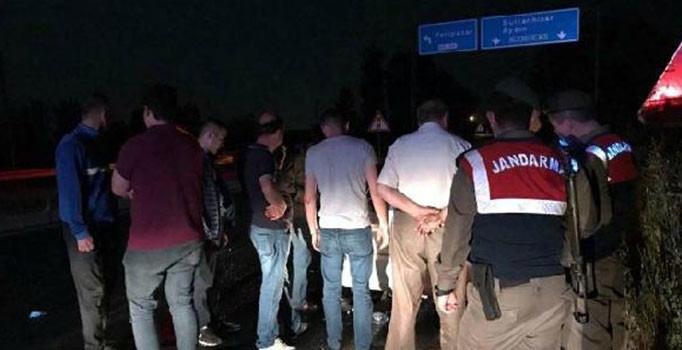 Aydın'da zincirleme kaza: 6 kişi yaralı, 1 dana telef oldu