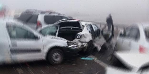 Aydın'da zincirleme trafik kazası: Ölü ve yaralılar var