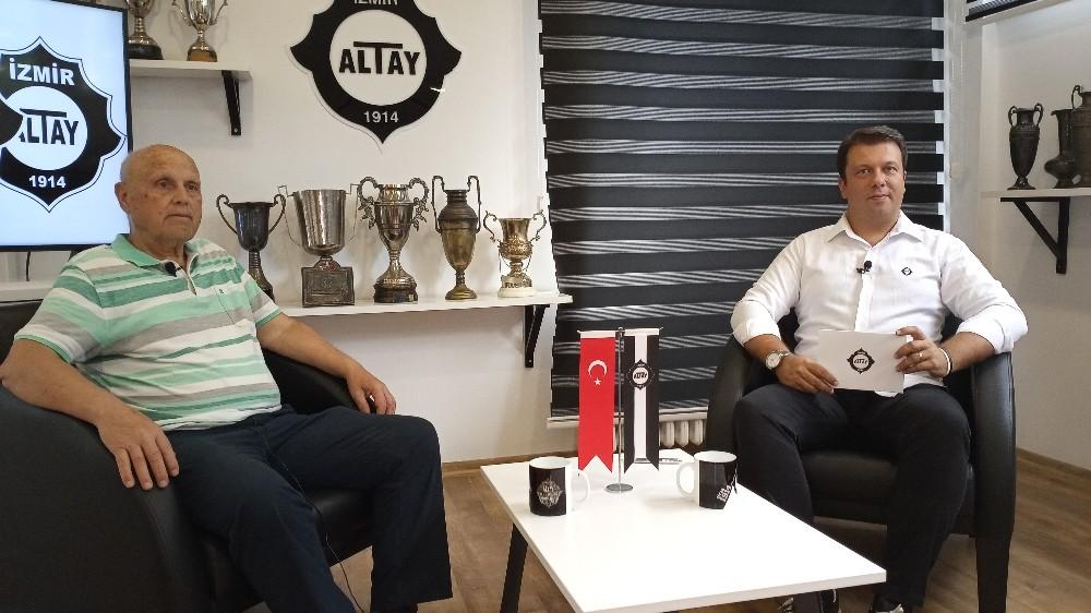 """Ayfer Elmastaşoğlu: """"Altay'ın yeri Süper Lig"""""""