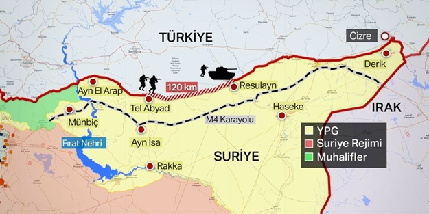 Ayn el Arab neresi? Ayn el Arab (Kobani) nerede? Ayn el Arab haritası