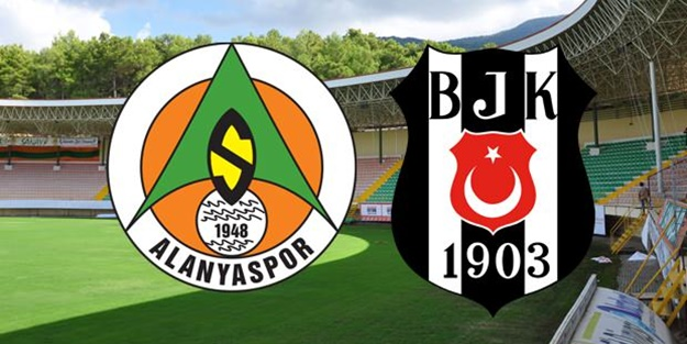 Aytemiz Alanyaspor Beşiktaş maçı muhtemel 11'leri