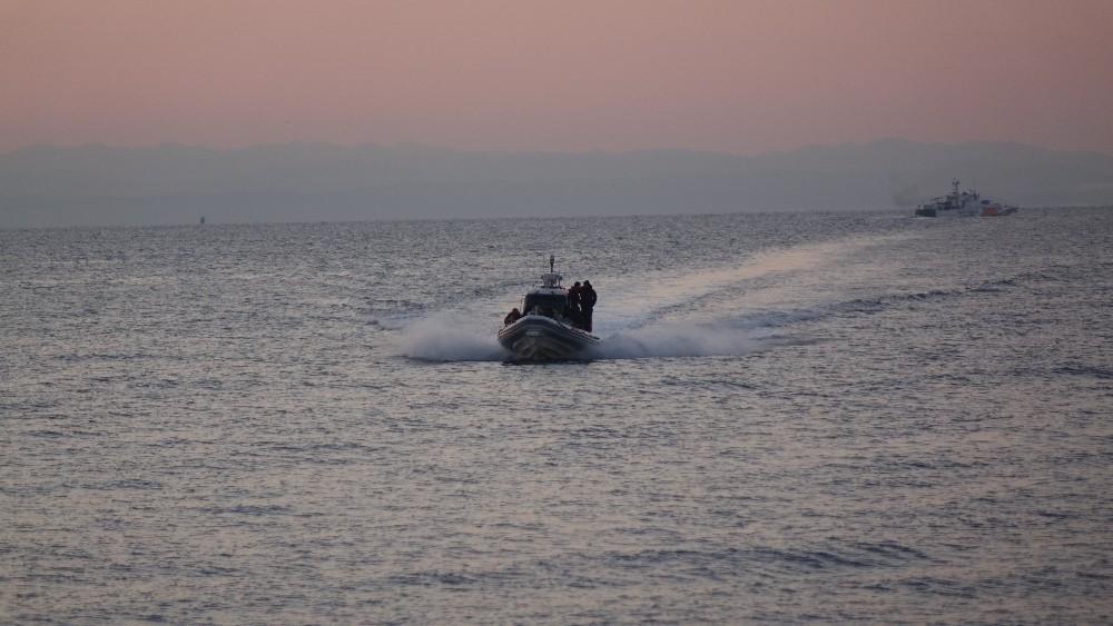 Ayvacık'ta 37 mülteci yakalandı