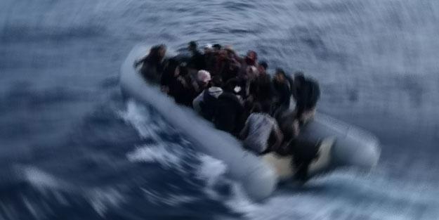 Ayvalık'ta 48 kaçak göçmen yakalandı