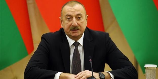 Azerbaycan Cumhurbaşkanı Aliyev'den önemli açıklama! Çatışmaların durması için şartını açıkladı