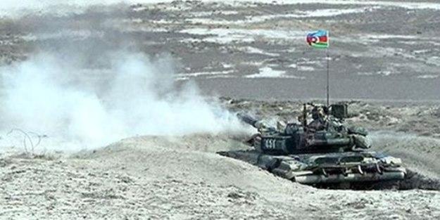 Azerbaycan, Ermenistan'ı vurdu!
