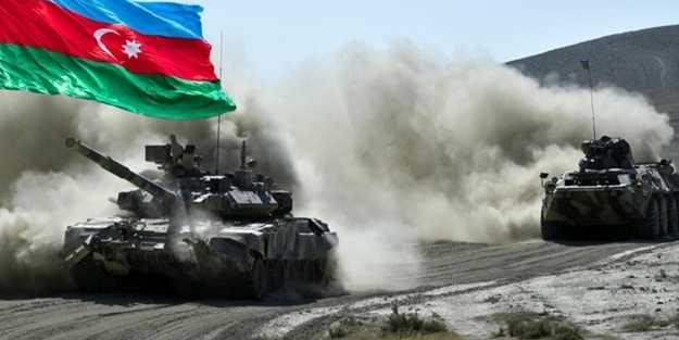 Azerbaycan ordusu oraya girdi! Ermeniler adım dahi atamayacak