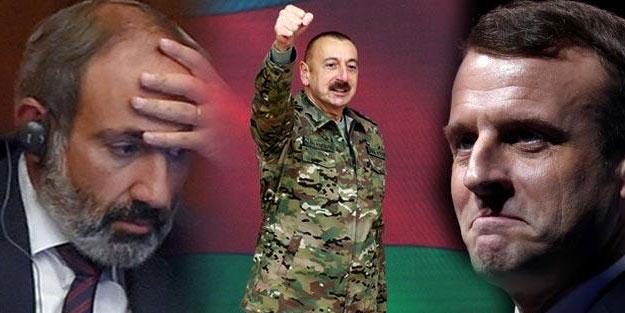Azerbaycan vurdu! Ses Fransa'dan çıktı