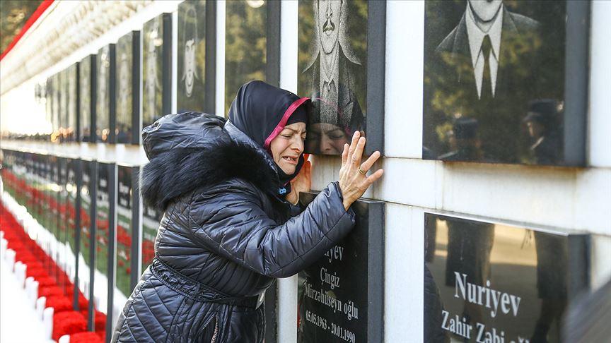 Azerbaycan'da 30 yıldır dinmeyen acı 'Kanlı Ocak'