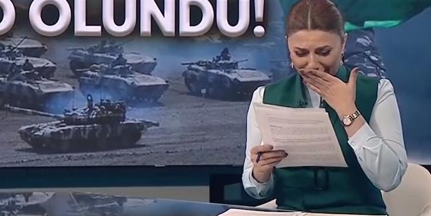Azerbaycanlı spiker kritik haberi böyle duyurdu