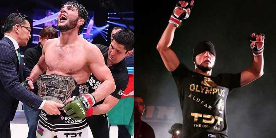 Azeri dövüş şampiyonu cepheye savaşa gitti