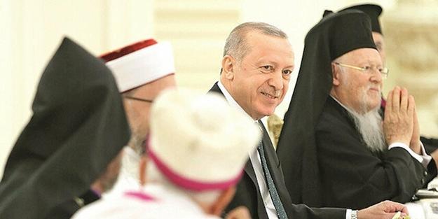 Azınlık cemaat temsilcileri: İftar muhteşemdi, Erdoğan bizi gözleri ve yüreğiyle kucakladı!