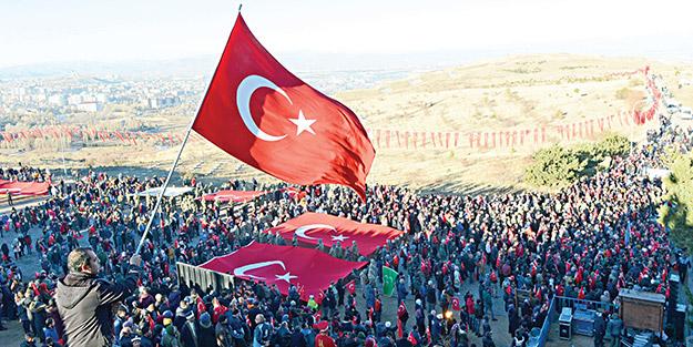 Aziziye Zaferi'nin 142'nci yıldönümü kutlandı! Erzurumlular tarihine sahip çıkıyor