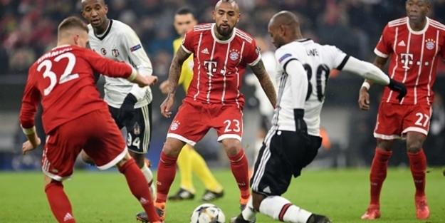 B. Münih Beşiktaş maçının kadrosunu açıkladı