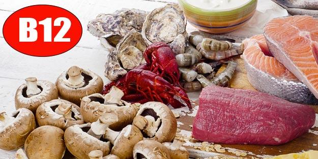 B12 vitamini nerelerde var? B12 içeren gıdalar