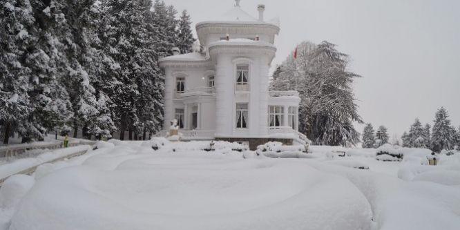 Trabzon'da kar hayatı olumsuz etkiliyor