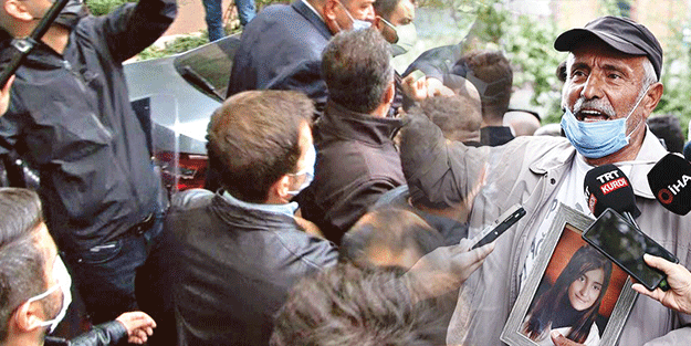 Baba Laçin'e HDP'den linç girişimi!