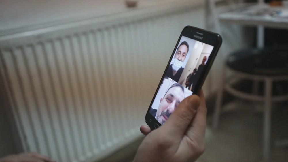 Babası sağlıkçı olan küçük Yağız'ın doğum gününü Başkan Ercan kutladı