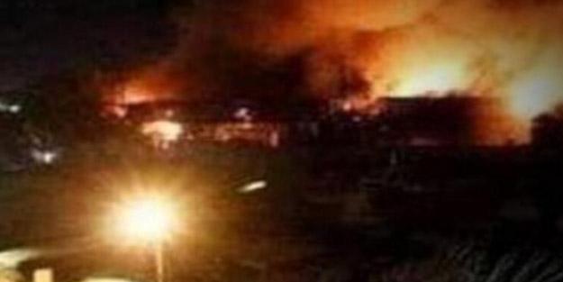 Bağdat'taki, Yeşil Bölge'ye füze saldırısı