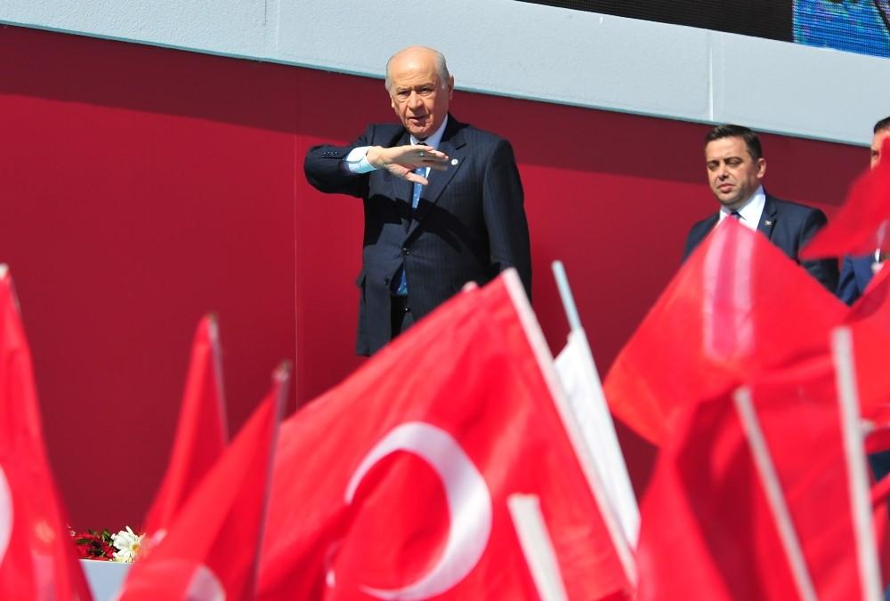 Bahçeli: ''31 Mart seçimleri Ankara için uçurumdan önceki son çıkıştır