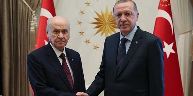 BAHÇELİ'DEN BAŞKAN ERDOĞAN'A TEBRİK TELEFONU