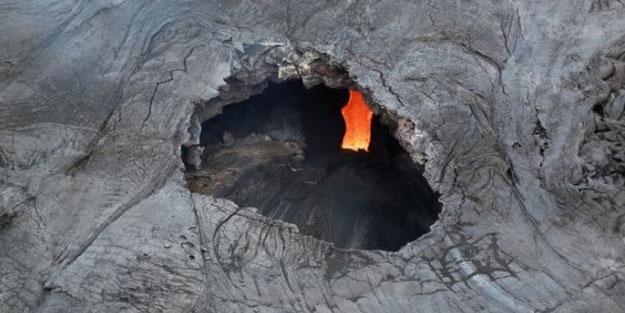 Bahçesindeki lav tüneline düşen Hawaii'li adam öldü