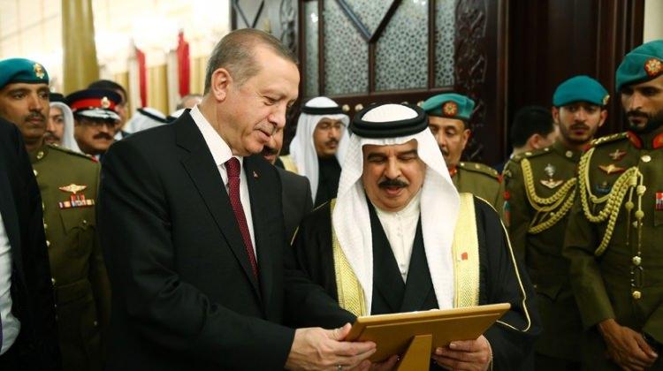 Bahreyn'de ana gündem: Erdoğan!