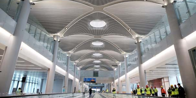 Bakan açıkladı, 3 Havalimanı'nın yüzde 73'ü tamamlandı