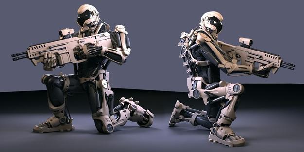 Bakan Özlü açıkladı: Robot askerler geliyor