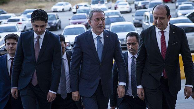 Bakan Akar'dan liderlere Barış Pınarı ziyareti