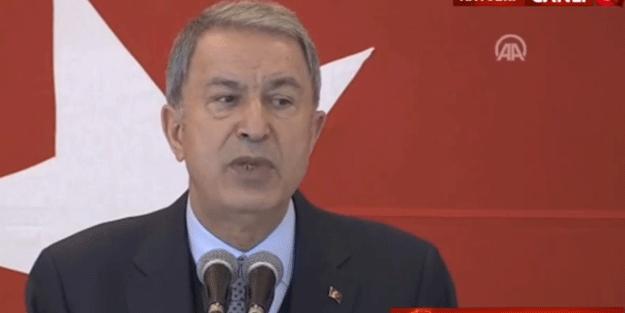 Bakan Akar'dan Yunanistan açıklaması