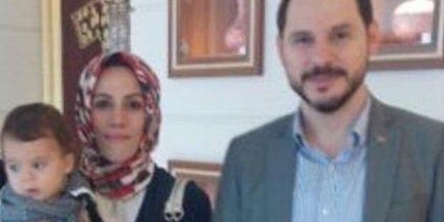 Bakan Albayrak'ın oğlu ilk kez görüntülendi