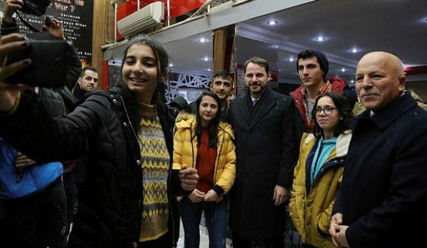 Bakan Albayrak'tan Erzurum'a özel teşekkür!