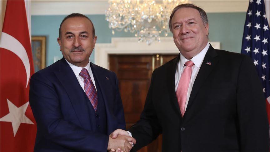 Bakan Çavuşoğlu ABD'li mevkidaşı Pompeo ile telefonda görüştü
