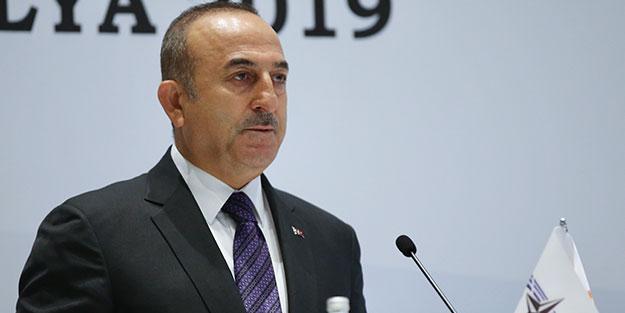 Bakan Çavuşoğlu açıkladı: Mazlum Kobani'ye özel kurye!