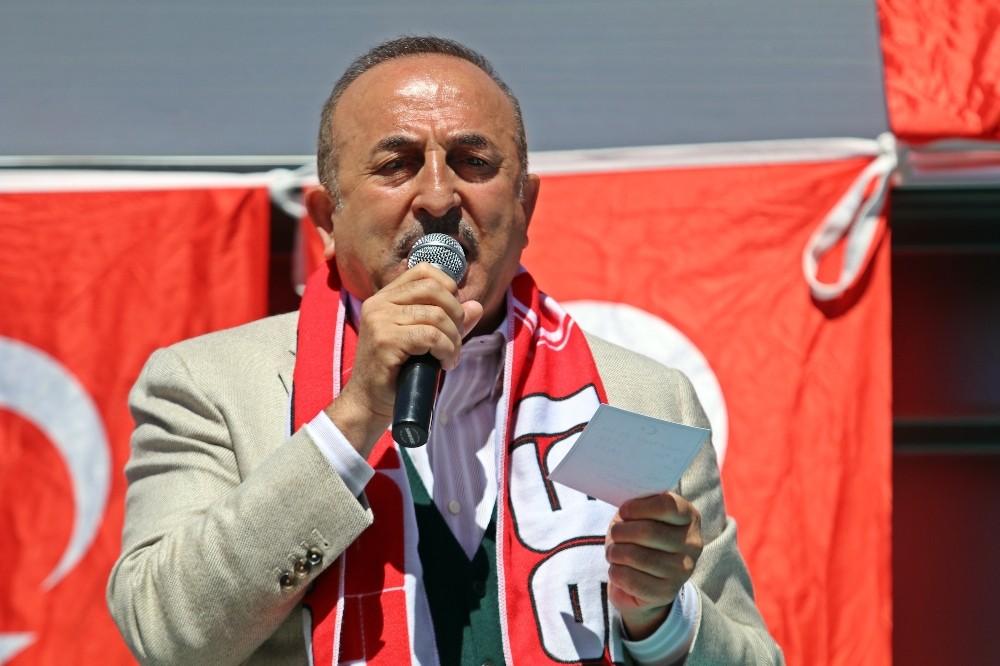 Bakan Çavuşoğlu'ndan PKK'lı aday listesi açıklaması