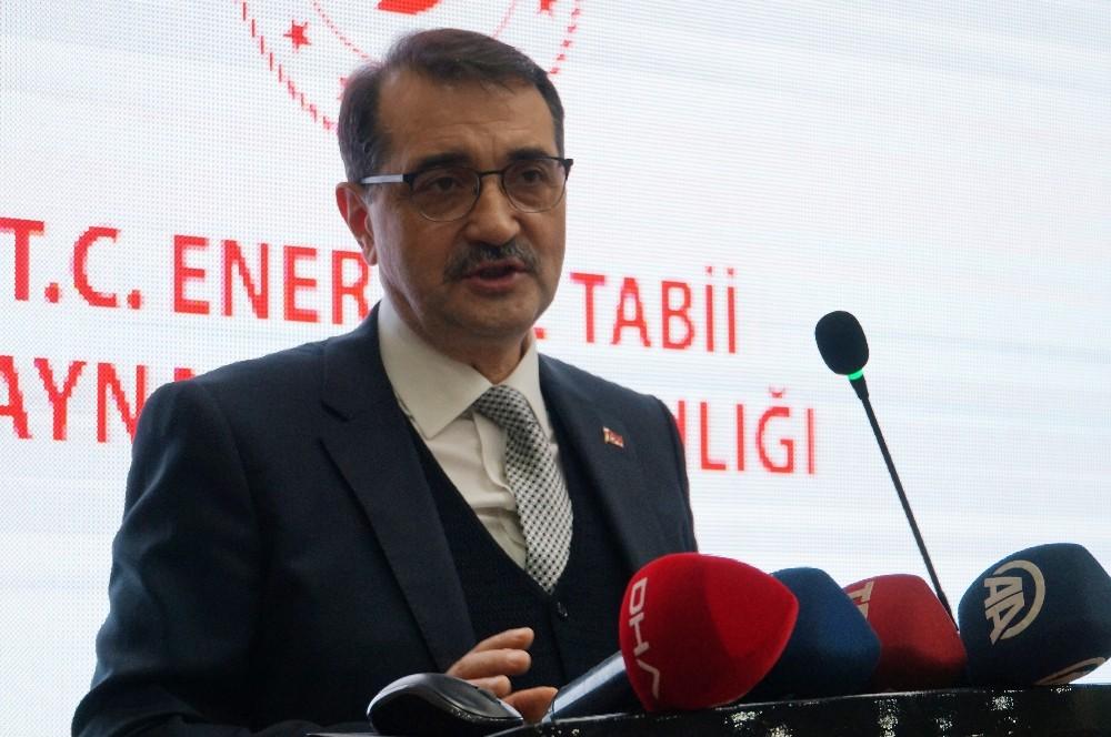 """Bakan Dönmez: """"Hedefimiz bağımsız enerji güçlü Türkiye'dir"""""""