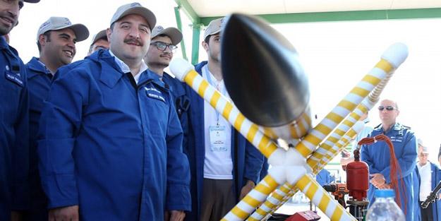 Bakan inceledi! Tuz Gölü'nde roketler ateşlendi