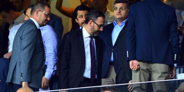 Bakan Kasapoğlu, Fenerbahçe tribünlerinde