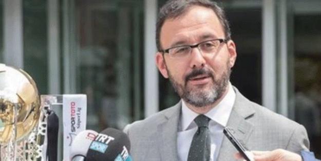 Bakan Kasapoğlu'ndan İrfan Can Kahveci'ye övgü dolu sözler