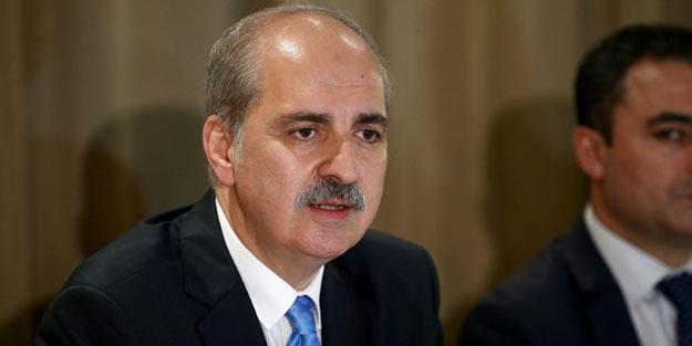 Bakan Kurtulmuş: Bu Türkiye'ye bir gözdağıdır