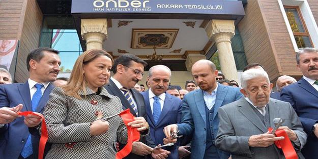 Bakan Kurtulmuş, ÖNDER projesinin akademi açılışına katıldı